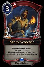 Sanity Scorcher