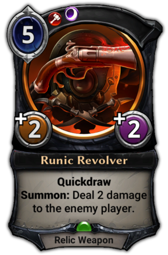 Runic Revolver card