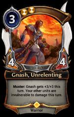 Gnash, Unrelenting