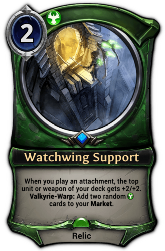 Watchwing Support card