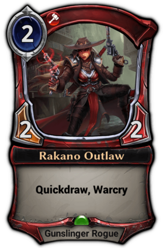 Rakano Outlaw card