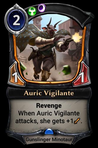 Auric Vigilante card