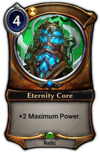 Eternity Core card
