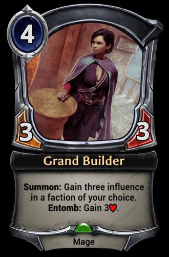 Grand Builder card