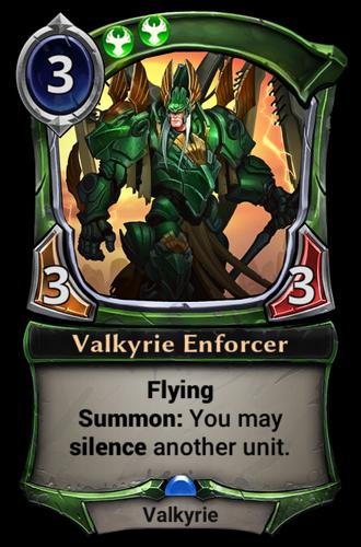 Valkyrie Enforcer card