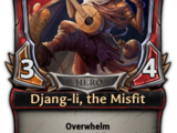 Djang-li, the Misfit
