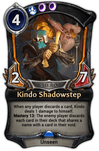 Kindo Shadowstep card
