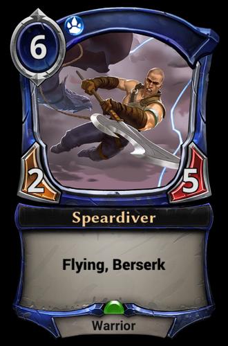 Speardiver card