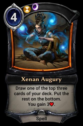 Xenan Augury card