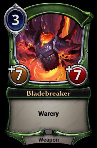 Bladebreaker card