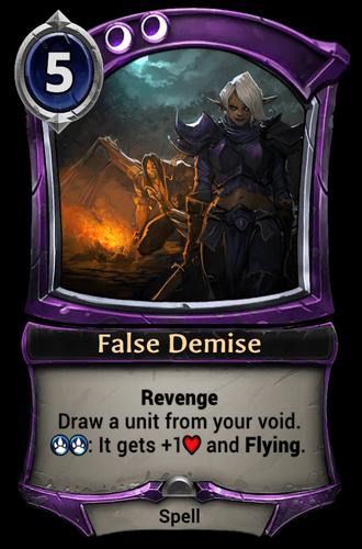 False Demise card