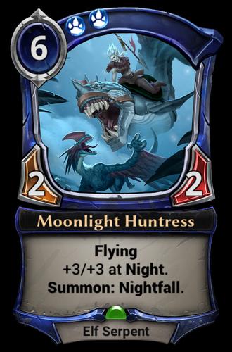 Moonlight Huntress card