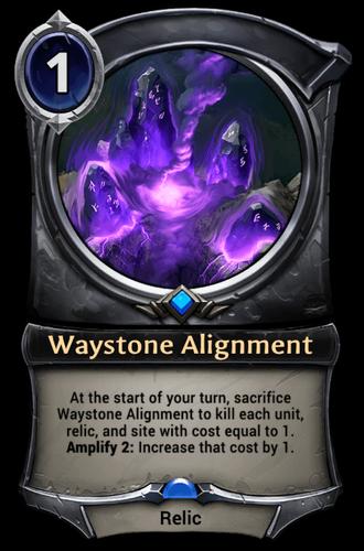 Waystone Alignment card