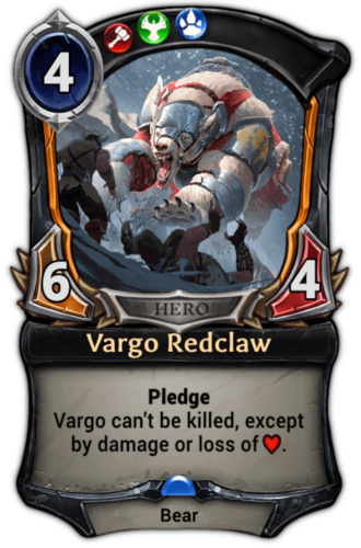 Vargo Redclaw card