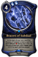 Bracers of Subdual