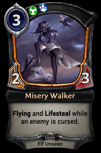 Misery Walker card