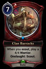 Clan Barracks