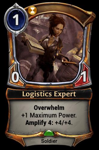Logistics Expert card