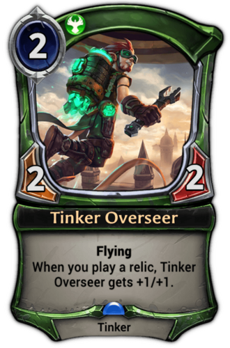 Tinker Overseer card