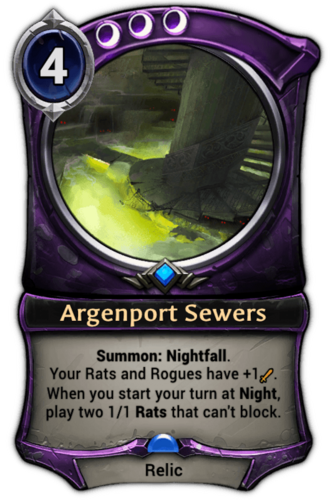 Argenport Sewers card
