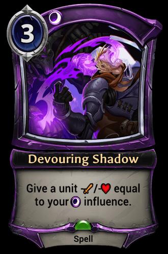 Devouring Shadow card