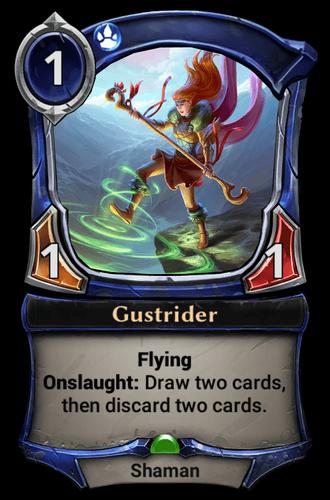 Gustrider card