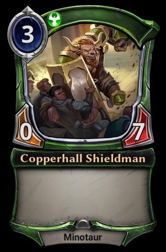 Copperhall Shieldman card