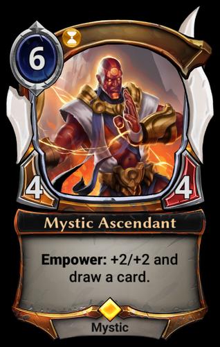 Mystic Ascendant card