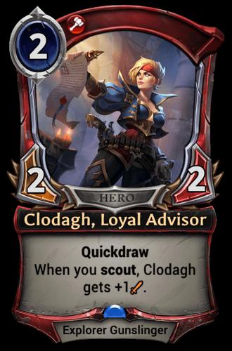 Clodagh, Loyal Advisor card
