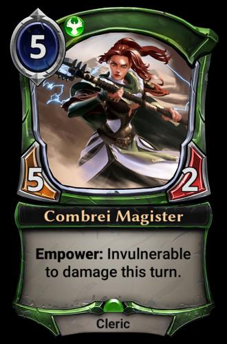 Combrei Magister card