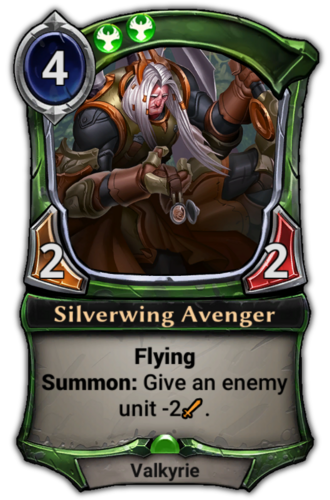 Silverwing Avenger card