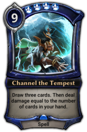 'Channel the Tempest' card image