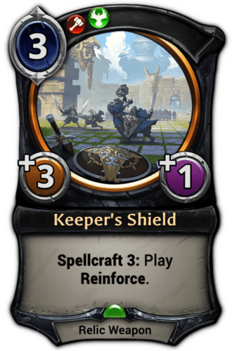 Keeper's Shield card