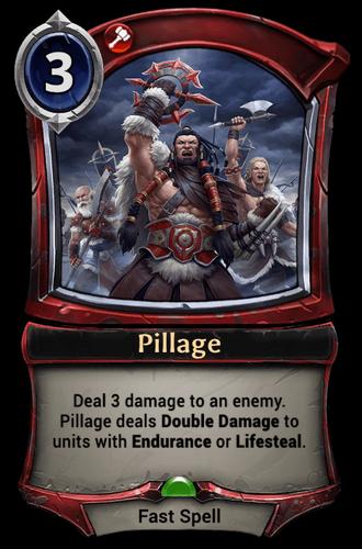 Pillage card