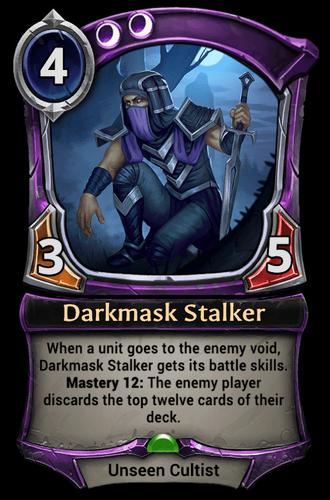 Darkmask Stalker card