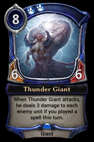 Thunder Giant card