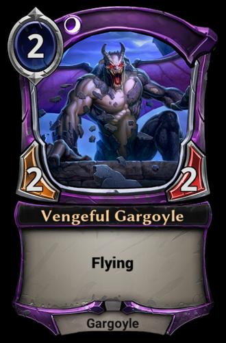 Vengeful Gargoyle card