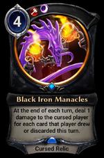 Black Iron Manacles