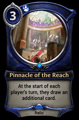 Pinnacle of the Reach card
