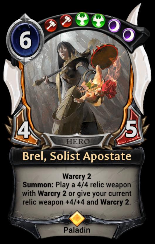 Brel, Solist Apostate card