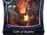 Gift of Battle
