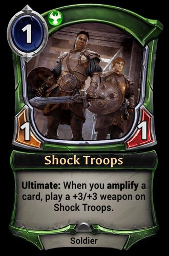 Shock Troops card