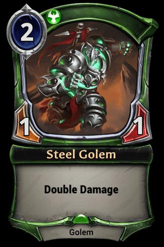 Steel Golem card
