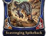Scavenging Spikeback