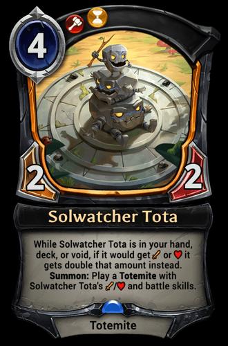 Solwatcher Tota card