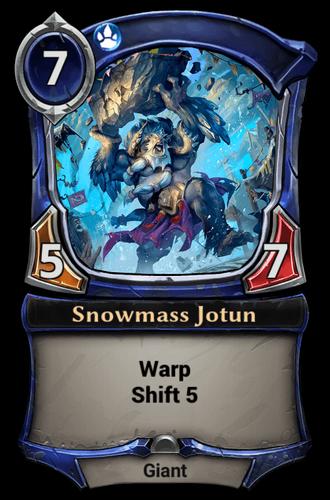 Snowmass Jotun card