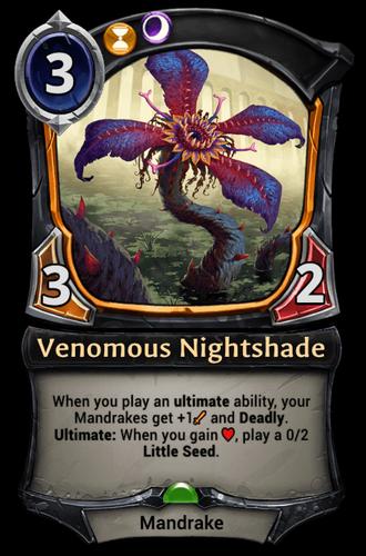 Venomous Nightshade card