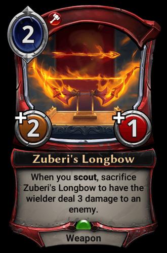 Zuberi's Longbow card