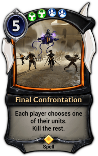 Final Confrontation card