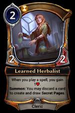 Learned Herbalist